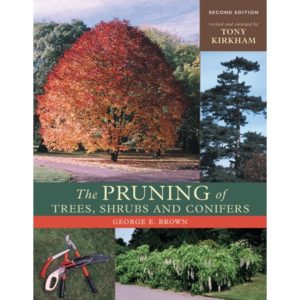 The pruning of trees, shrubs and conifer