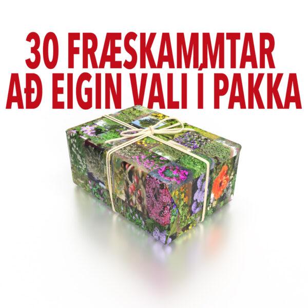 Fræpakki - 30 skammtar